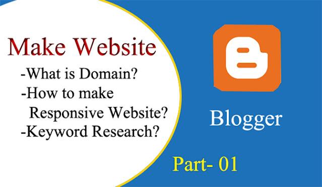 Blogger Website For AdSense
