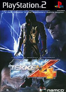Tekken 4 PS2 ISO (NTSC-J) (MG-MF)