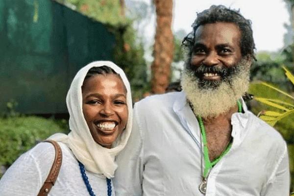 Keroche boss Tabitha Karanja  daughter tecra with Omar Lali photo