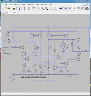 Screenshot 3 : LTspice XVII | Software Elektronika