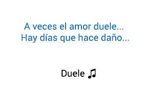 Reik Wisin Yandel Duele significado de la canción.