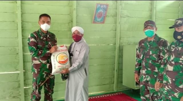 Sambut Ramadhan, Kodim 0321 dan Jajaran Berbagi Sesama