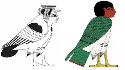 Ancient Egyptian Ka and Ba picture
