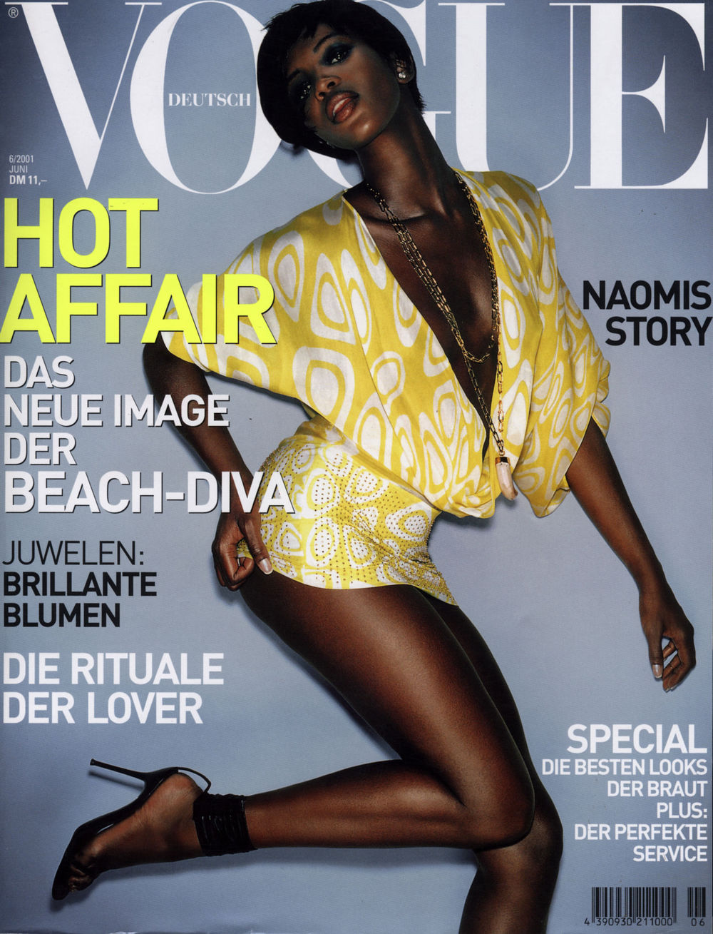 Vogue S Covers Gigi Hadid: Vogue's Covers: Naomi Campbell