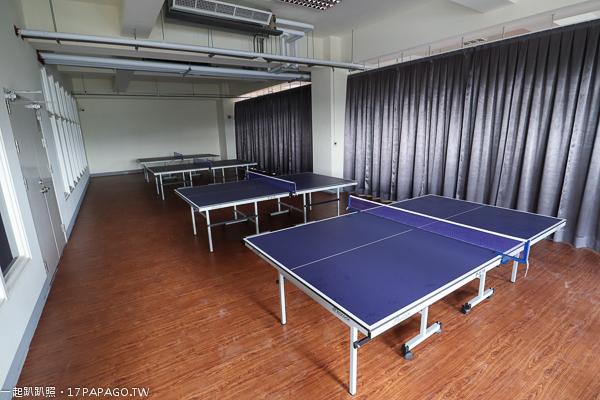 台中港區運動公園桌球室