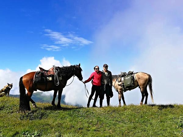 Gruzie 2019 - na koních Kavkazem