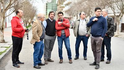 Facundo López, Pascual Corapi, Vilchez, Issin, UPC, Vega, Camara Comercial