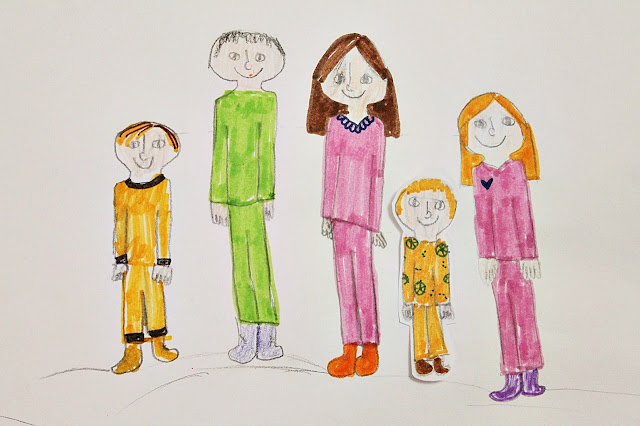 SOS-Lapsikylä tukiperhevanhemmat ja kaikki lapset