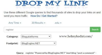 cara menggunakan dropmylink