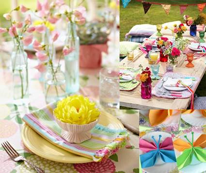 Outdoor Party Spring Tables Decoration For Adults 6