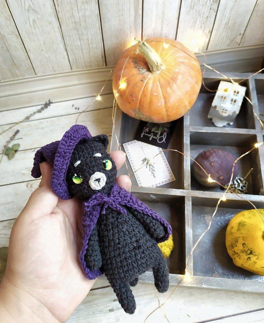 Halloween Crochet Pattern Halloween Crochet Tutorial Box | Etsy | 1101x900