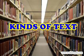 Belajar Bahasa Inggris - Jenis Jenis Teks Bahasa Inggris
