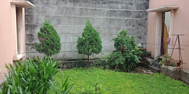 Halaman Belakang Rumah Mewah Modern Di Jalan Kemiri II Simpang Limun Medan Sumatera Utara - 0812 8383 8397