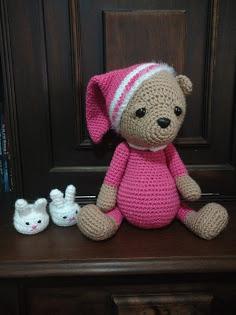 Urso Polar Receita de Amigurumi de Crochê Grátis - Little Bear ... | 315x236