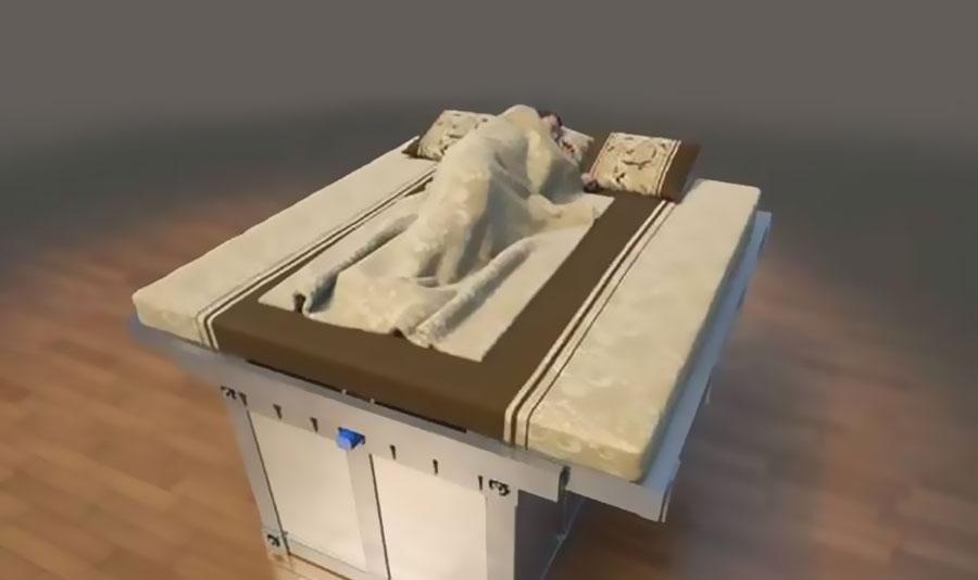Amicomario terremoti e possibili protezioni in cina si studiato un letto cassaforte che si - Letto che si chiude ...