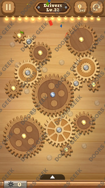 Fix it: Gear Puzzle [Drivers] Level 22 Solution, Cheats, Walkthrough for Android, iPhone, iPad and iPod