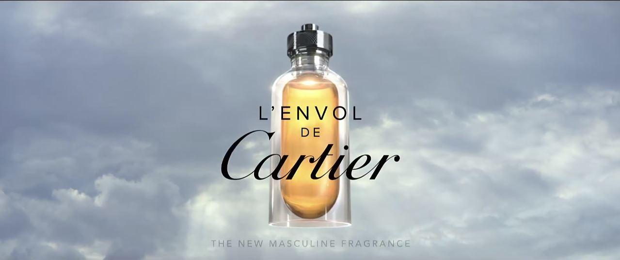 Canzone Cartier L'Envol (profumo uomo) Pubblicità