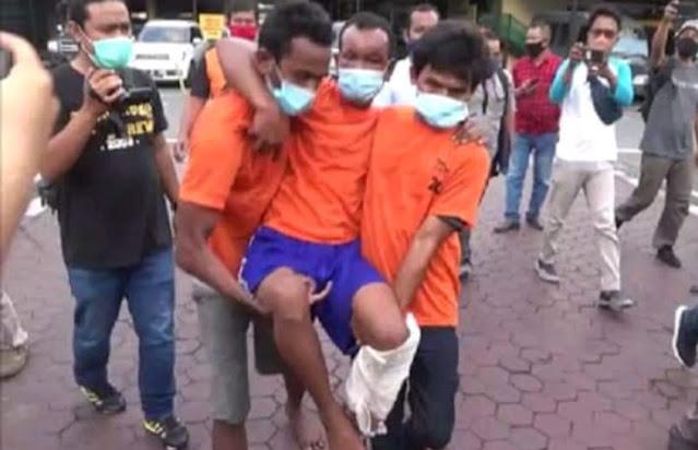 Polisi ringkus paman Biadab, pemerkosa dan pembunuh anak yatim