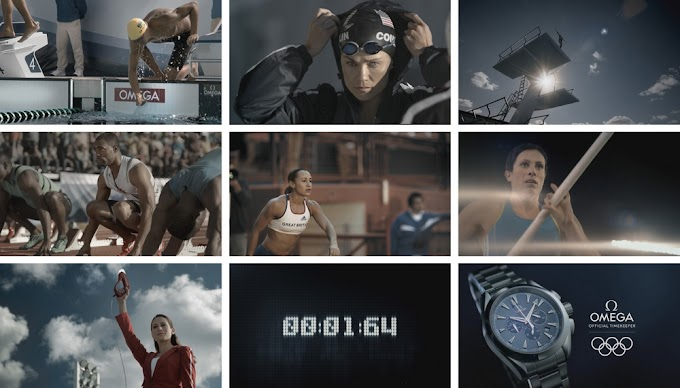 Behind The Scenes Of OMEGA's 2012 Summer Olympics Commercial