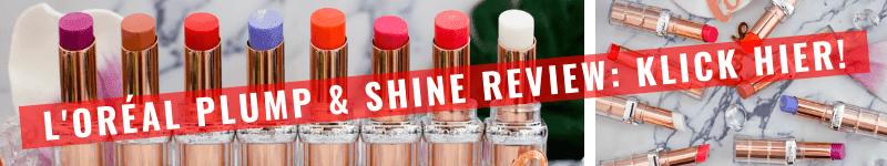 L'Oréal Color Riche Plump & Shine Test