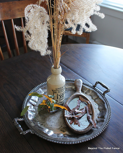 dried grasses for a fall centerpeice