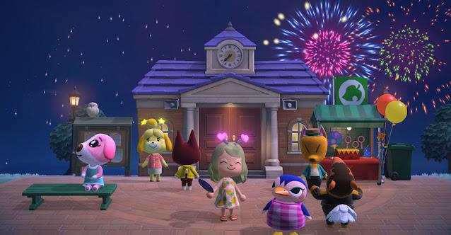 Animal Crossing: New Horizons Atualização Julho 2021