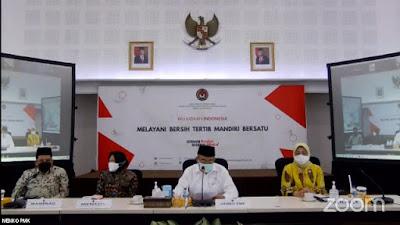 konferensi pers Rapat Tingkat Menteri (RTM)