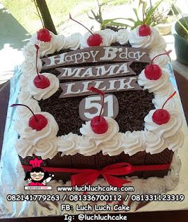Kue Tart Blackforest Murah dan Cantik Untuk Mama