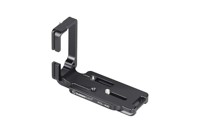 Sunwayfoto PCL-90D L Bracket rear / side view