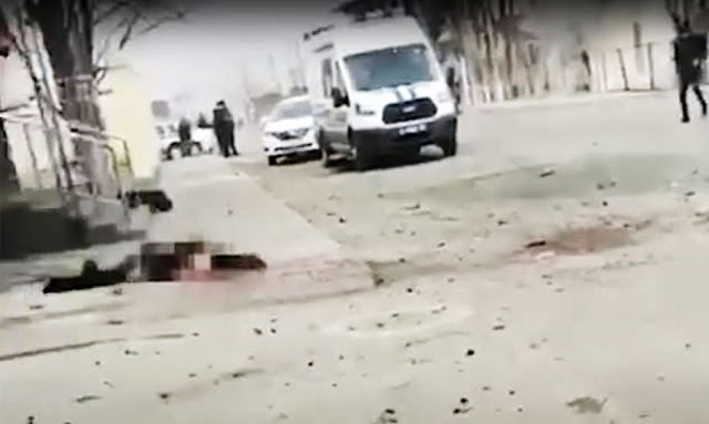 Suicide Bomb Attack On Police In Russia