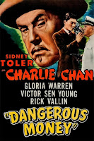 Póster película Charlie Chan - Dangerous Money