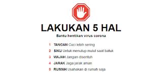 Tips Agar Aman dari Virus Corona atau Covid 19