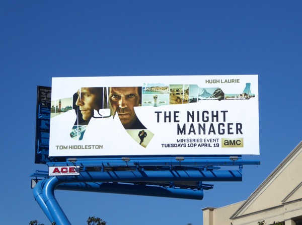 Night Manager TV miniseries billboard