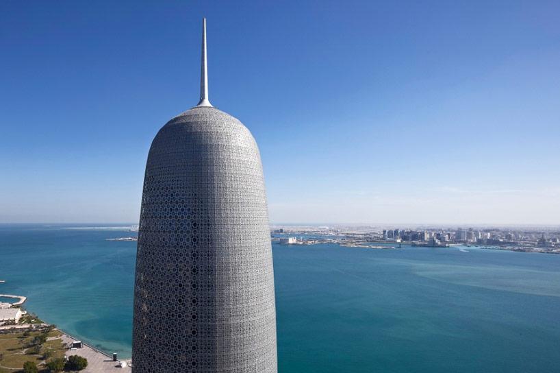 torre en Doha Qatar.