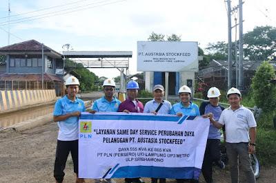 Same Day Service, Layanan PLN Untuk Lampung