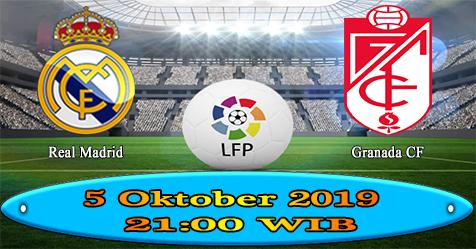 Prediksi Bola855 Real Madrid vs Granada CF 5 Oktober 2019