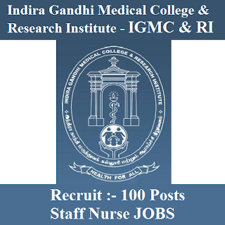 Indira Gandhi Medical College & Research Institute, IGMC & RI, IGMC & RI Answer Key, Answer Key, igmc&ri logo