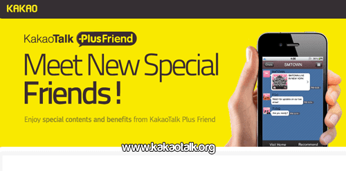 Tus amigos favoritos con KakaoTalk Plus Friend