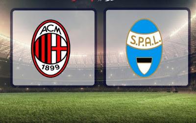 مشاهدة مباراة سبال و ميلان 1-7-2020 بث مباشر في الدوري الايطالي
