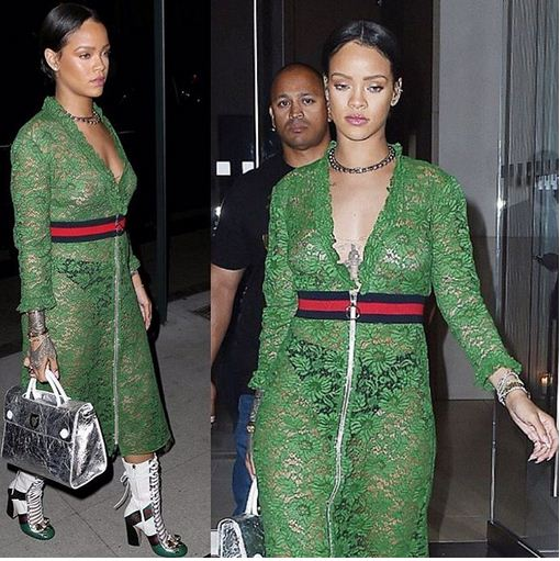 Rihanna's baffling outfit how can we value it worth.