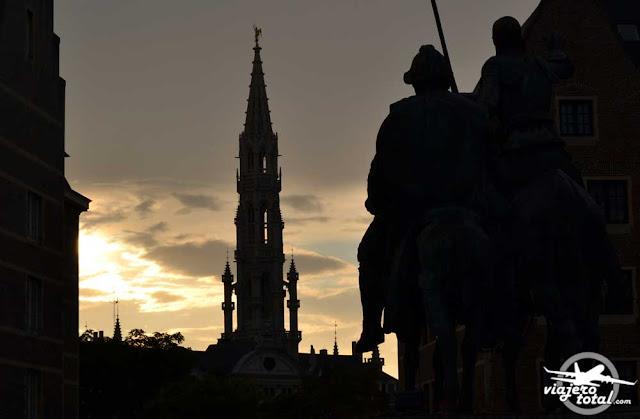 Bruselas - Bélgica - Don Quijote y Sancho Panza - Cervantes