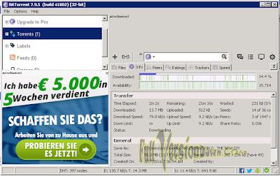 BitTorrent v7.9.5 build 41822 Latest Free
