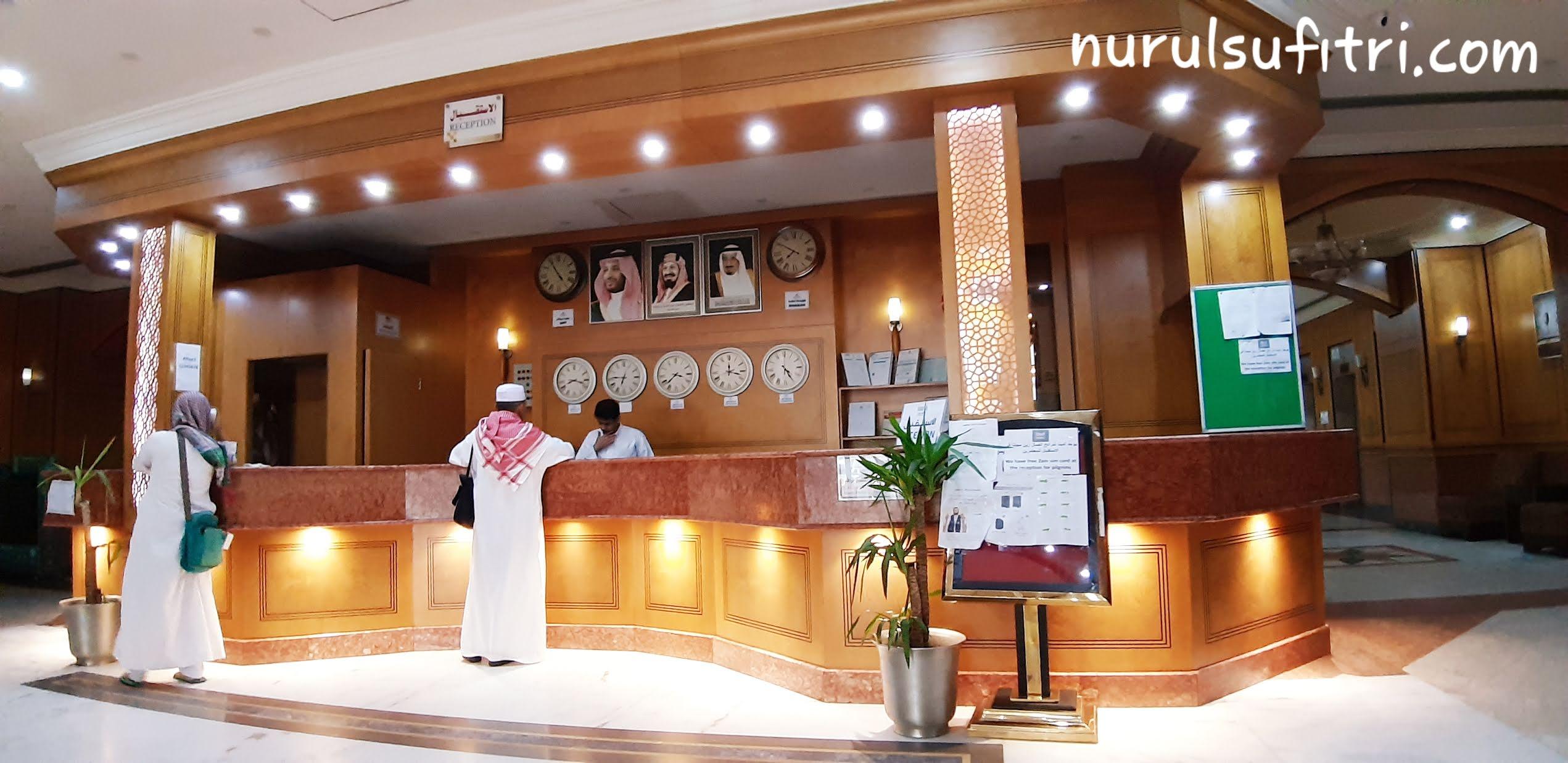 pengalaman menginap di hotel al olayan a; khalil makkah ketika umroh review traveling nurul sufitri lifestyle blogger arab saudi