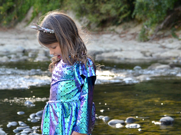 How to Sew a Little Girl Mermaids Costume