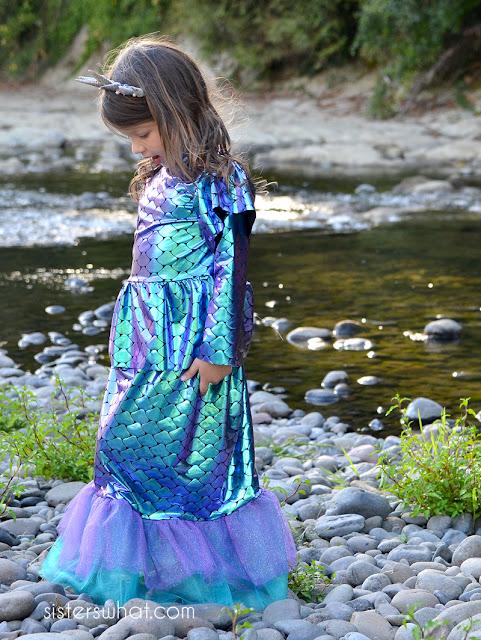 diy modest mermaid costumes