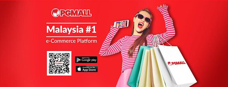 Kempen Beli Barangan Malaysia dan Year End Sale PG Mall Kembali Lagi