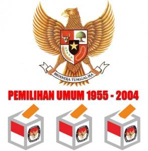 Pemilu Indonesia tahun 1955 sampai 2004