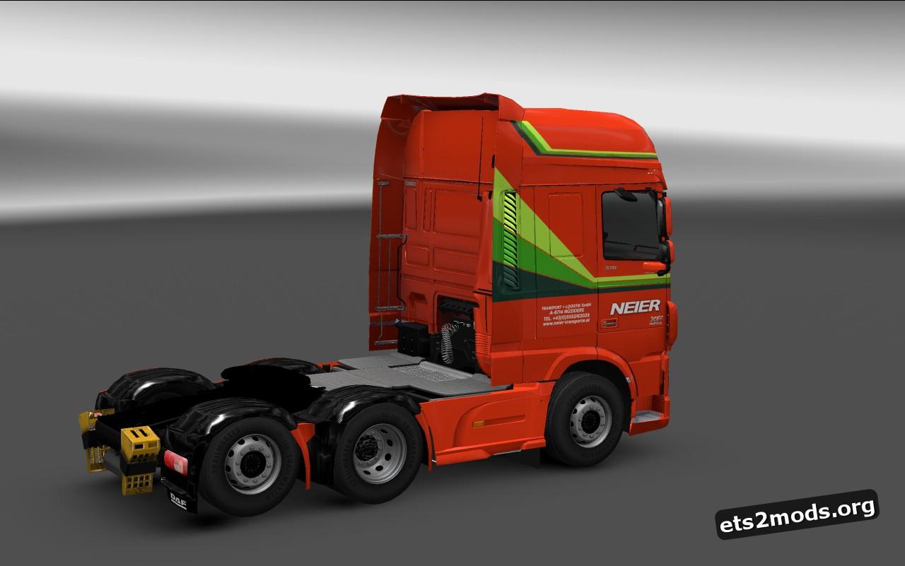 DAF Euro 6 Neier Transporte Skin