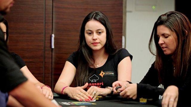 Jugadora de póker