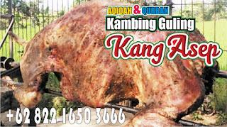 sensasi live show barbeque kambing guling di lembang